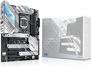 ROG Strix Z590-A Gaming WiFi 6 LGA 1200(Intel 11th/10thGen) ATX White Scheme Gaming Motherboard (PCIe 4.0, 14+2 Power Stag...