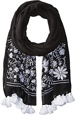 Kate Spade New York - Otomi Embroidery Oblong Scarf