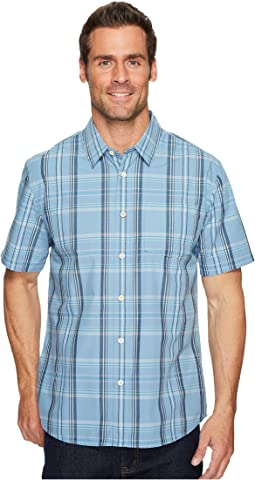 Quiksilver Waterman - Acotz Lines Short Sleeve Shirt