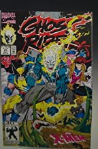 GHOST RIDER #27 AND X-MEN MARVEL COMIC BOOK 1992
