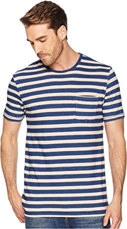 Stripe Crew Neck Tee
