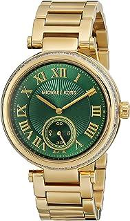 ساعة يد سكايلر كاجوال بسوار ستانلس ستيل للنساء من مايكل كورس - موديل MK6065