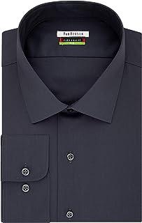 Van Heusen Men's Dress Shirts Big Fit Solid Spread Collar Dress Shirt (pack of 1)