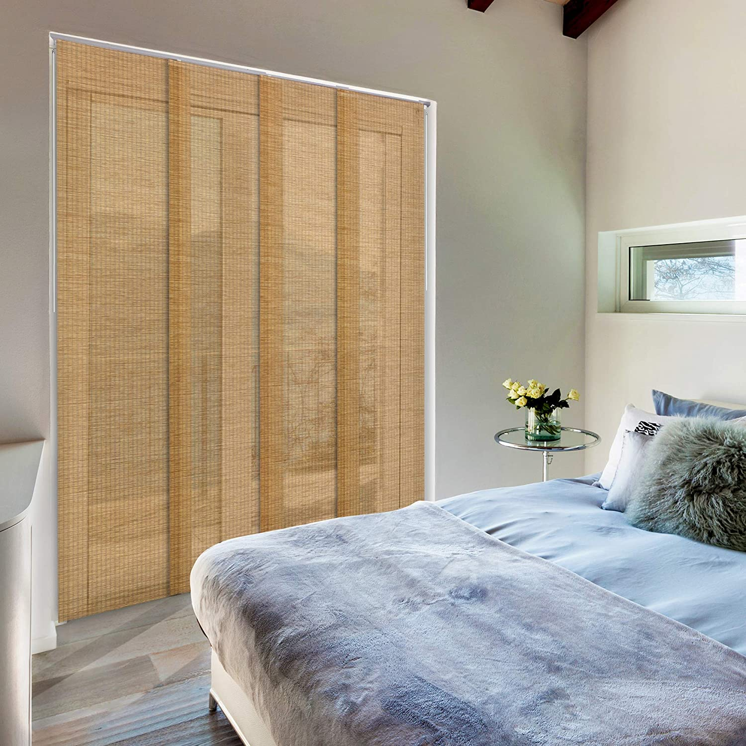 GoDear Design Deluxe Adjustable Free Attention brand shipping anywhere in the nation Sliding Blind Panel 45.8