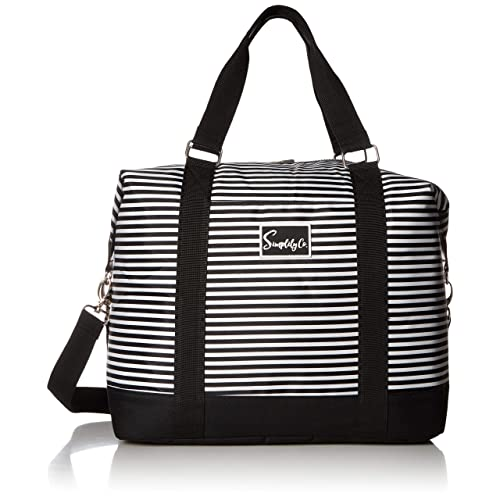e10afe6925f9 Travel Weekender Overnight Carry-on Shoulder Duffel Tote Bag (8