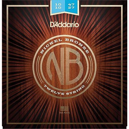 D'Addario NB1047-12 Cuerdas para Guitarra Acústica