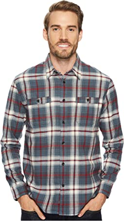 Quiksilver Waterman - Cedar Island Long Sleeve Flannel Shirt