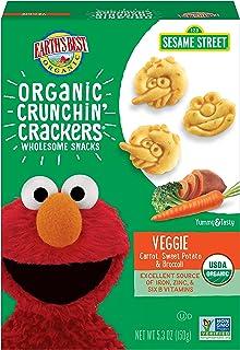 Earth's Best脆脆饼干,幼儿小吃,素食,5.3盎司(150克)(6包装)