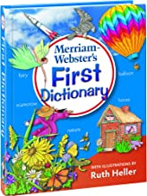 Merriam-Webster's First Dictionary (with illustrations by Ruth Heller) Newest edition