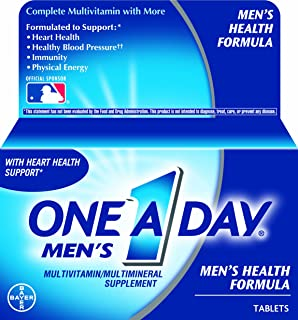 One-A-Day Men's Multivitamin, 60-Count (Pack of 2)