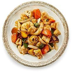 [冷蔵] 2-3人前 ミールキット 野菜と鶏肉の甘酢炒めキット 調理約10分