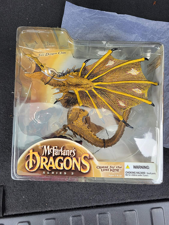 Popular Sale price popular Mcfarlane Dragons series 3 Dragon Clan Fire