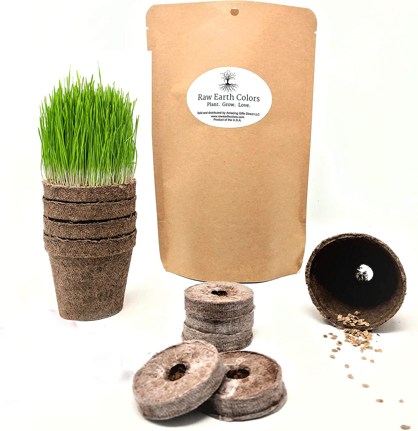 Inexpensive Cat Grass for Indoor Cats Kit Seeds with - Omaha Mall