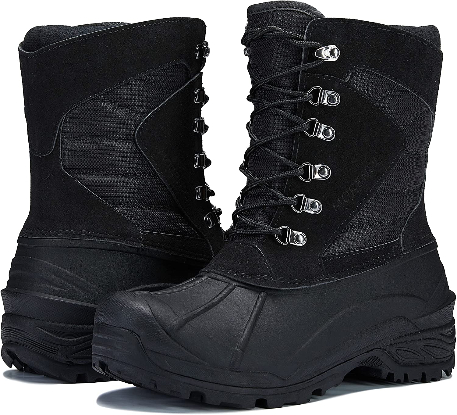 MORENDL Men's Winter Snow Popular Quantity limited brand in the world Boots Insulated So Waterproof Non-Slip