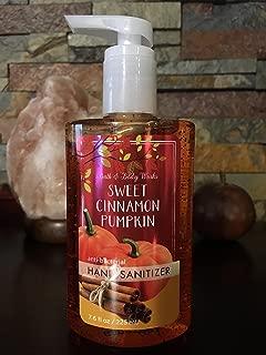 Sweet Cinnamon Pumpkin Anti- Bacterial Hand Sanitizer 7.6 Fl L Oz Bath and Body Works