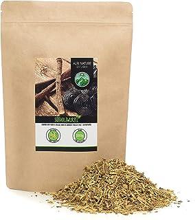 Gedroogde zoethoutwortel (500g), gesneden zoethoutwortel, 100% puur en natuurlijk voor de bereiding van thee