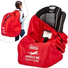 Car Seat Travel Bag for Airplane Gate Check Backpack for Traveling, Airport Safety Deluxe, Big, Waterproof Safety Wrap-Protector| Durable 600D Nylon Fabric, Adjustable Straps