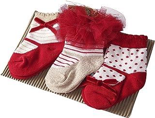 Sanlutoz Bebé Niños Chicas 3 pares Princesa Tutu Calcetines Boda Lindo Recién nacido Infantil Bebé Calcetines