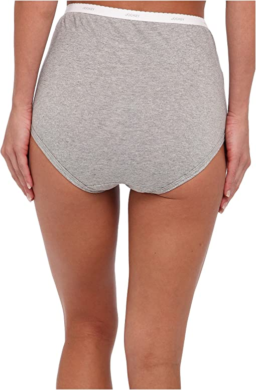 Grey Heather/Simple Stripe/Black