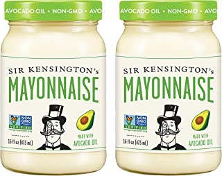 Sir Kensington's Mayonnaise, Avocado Oil, 16 Fl Oz (Pack of 2)