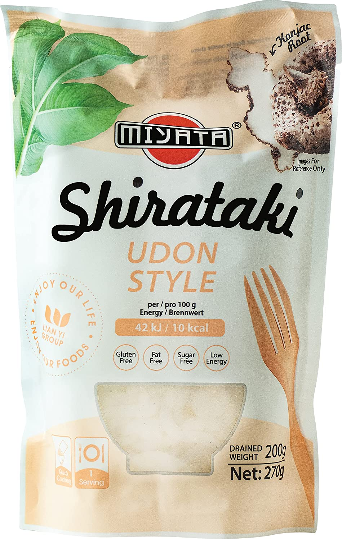 Miyata Shirataki, Fideos Udon De Harina De Konjac 270 g