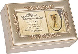 First Communion Music Box with