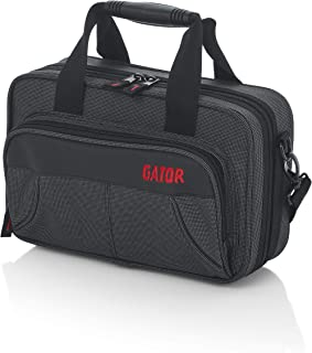 Gator Cases Lightweight Polyfoam Clarinet Case with Removable Strap and Rubber Interlocking Carry Handle; (GL-CLARINET-A)