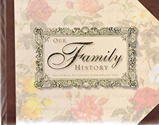 Our Family History (Record Book, Photograph Album & Family Tree Boxed Set)
