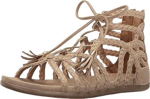 Kenneth Cole REACTION Wohommes Slim Slim Slim Loop Gladiator Sandal, Soft or, 10 M US cb5