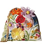 Alice + Olivia - Odessa Embroidered 3D Floral Pouch