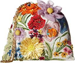 Odessa Embroidered 3D Floral Pouch