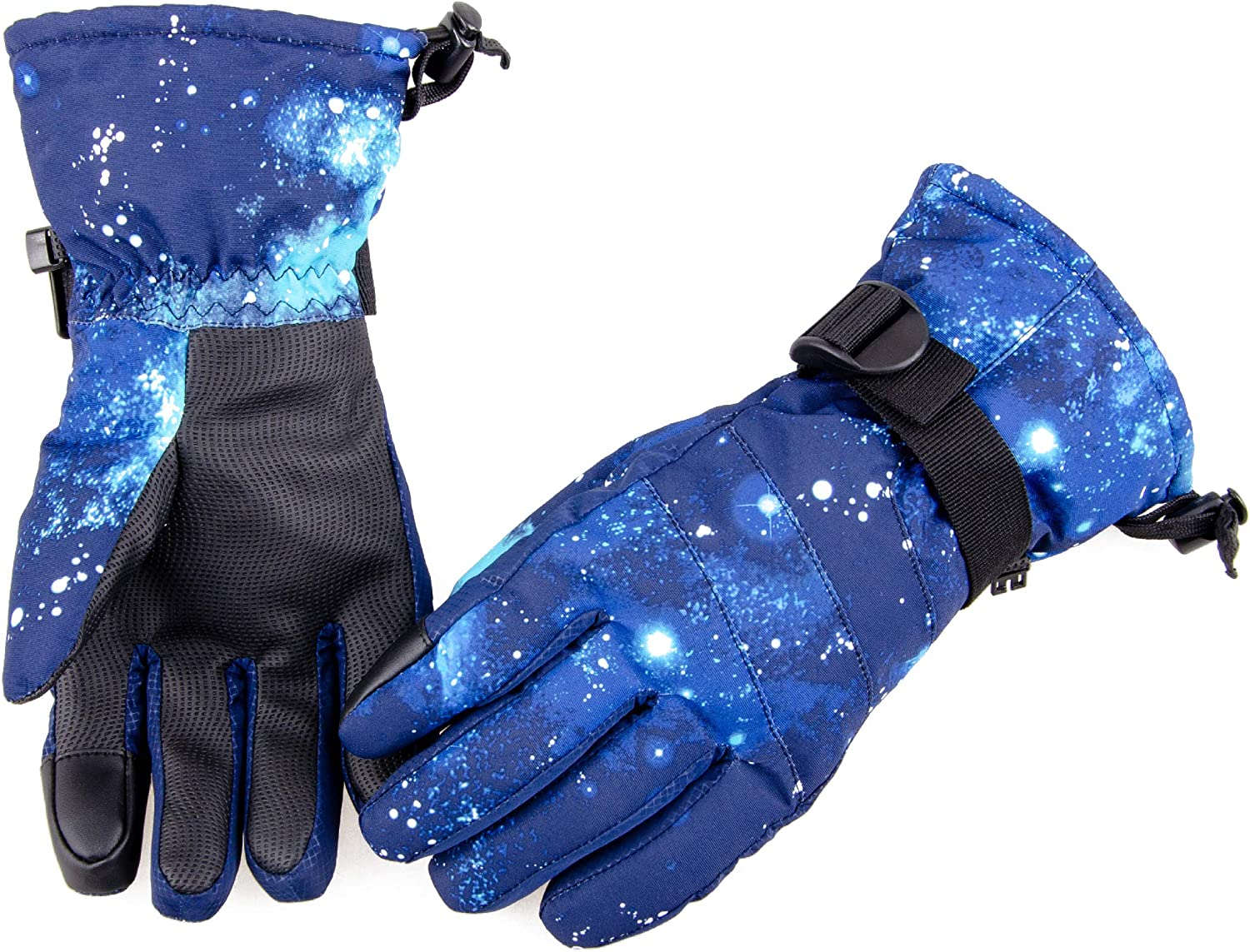Azarxis Winter Running Gloves Warm Thermal Windproof Touch Screen Glove for Men & Women Driving Cycling Riding Outdoor Sports