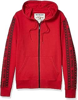 Men's Pullover Zip-Up Hoodie