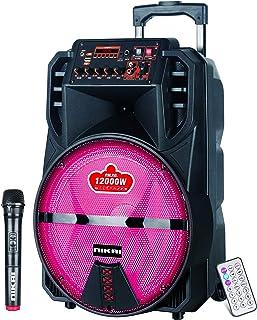 مكبر صوت بلوتوث بتصميم حقيبة جر امتعة من نيكاي، 15 انش - NTROY15601