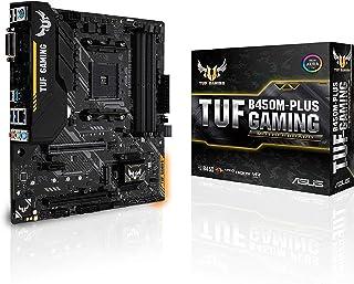 ASUS AMD B450 mATX Gaming Motherboard,DDR4,AM4,B450M-Plus