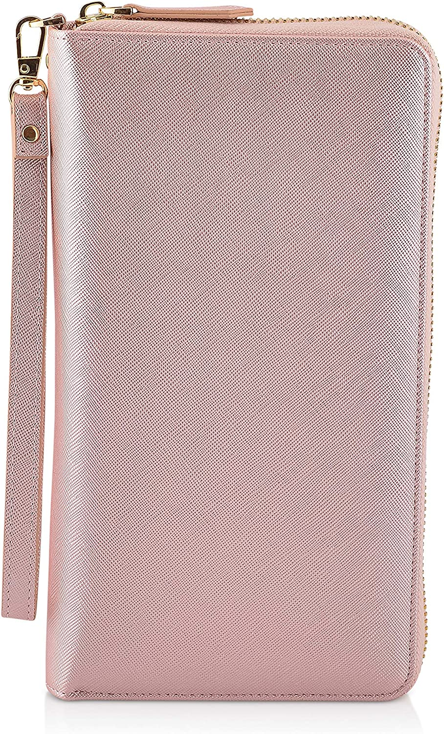 EXOS New Shipping Quantity limited Free Women's Large Capacity Clutch w Travel Removab Wallet