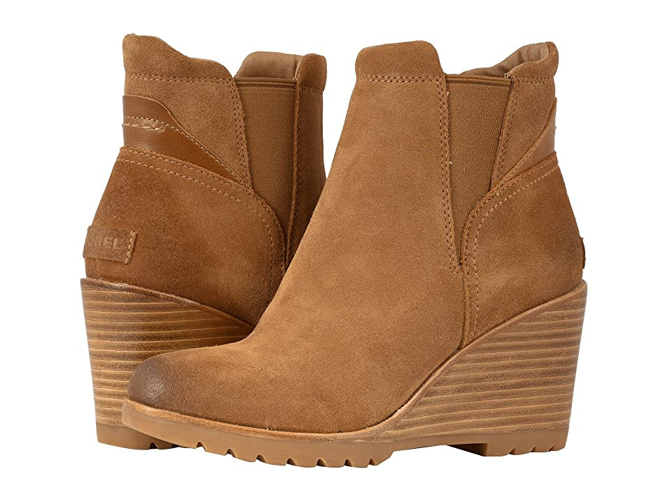 SOREL After Hours Chelsea (Camel Brown Suede) Women