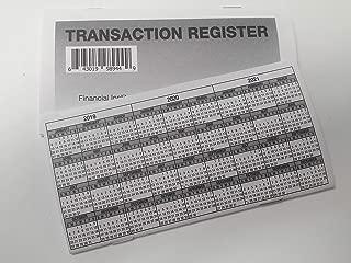 5 - Checkbook Registers - 2019-20-21 Calendar Transactions Checking Book Bank