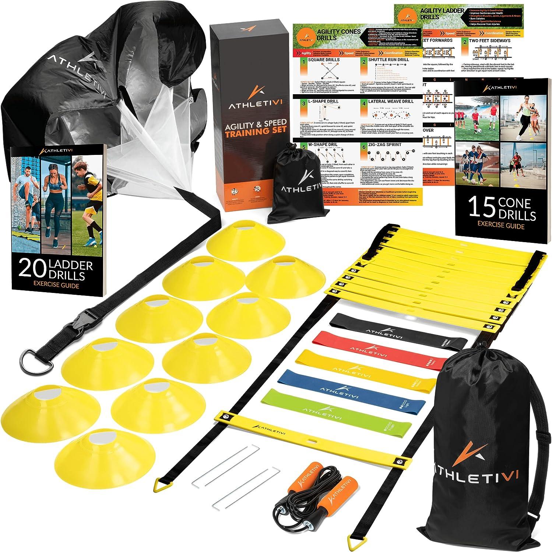 Athletivi Agility Ladder Football Equipment Popular - Training Ki Popular standard