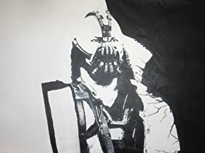 De Bane de el caballero oscuro Batman 28 x 16 de pintura al óleo, enmarcado, pero solo lienzo está disponible, nosotros detalles.