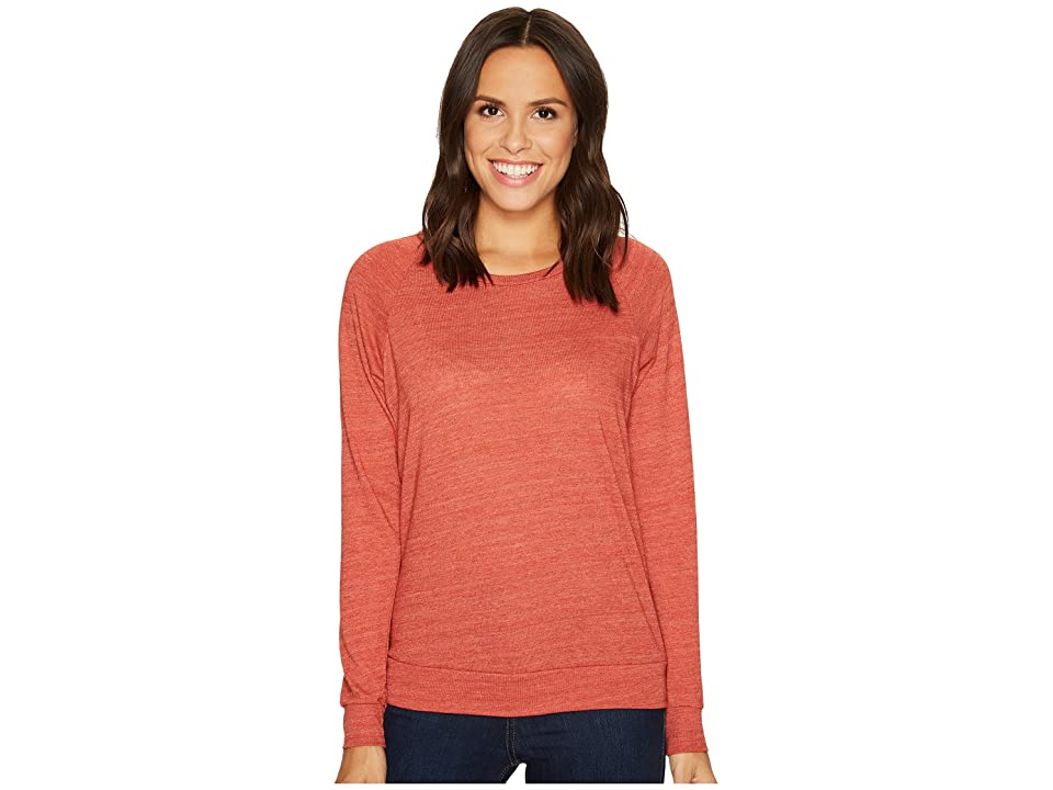 Alternative Eco-Heather Slouchy Pullover (Eco True Burnt Rock) Women