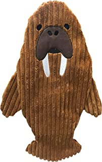 Tender-Tuffs You Fill No Squeak Quiet Walrus Dog Comfort Toy - 2 in 1 No Squeaker Dog Toy, Dog Crinkle Toy and Dog Water B...