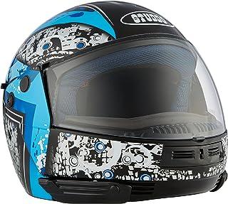 Studds Full Face Helmet Ninja D7 (Black N1, L)