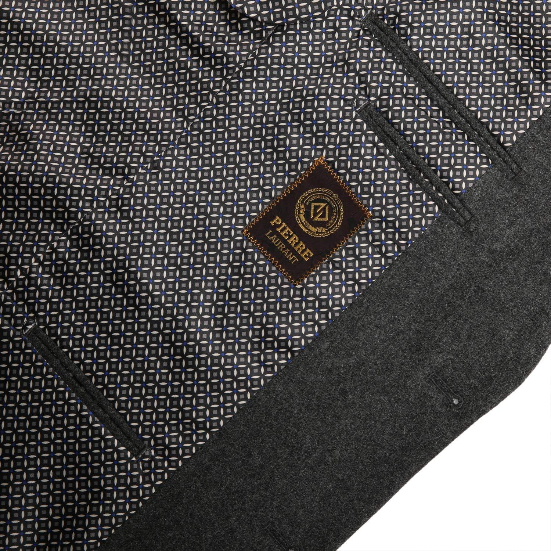 Pio Lorenzo Men's Modern Suit Jacket Wool Blend Sport Coat Classic Fit Blazer