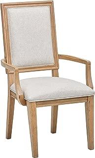 Stone & Beam Jon Casual Farmhouse Wood Dining Chair, 40