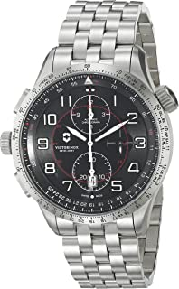 Victorinox Swiss Army Men's Airboss Mechanical Mach 9 Chronograph Watch