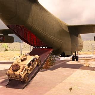 BattleGround US Army Transport Game Airplane Cargo Flight : WW2 Naval Gunner Tank War Zone Escape Deadly Shores Driver 3D