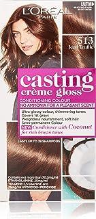 L'Oréal Paris Casting Crème Gloss Semi-Permanent Hair Colour - 513 Iced Truffle (Ammonia Free)