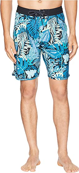 Tropical Maui Four-Way Stretch Boardshorts 20""