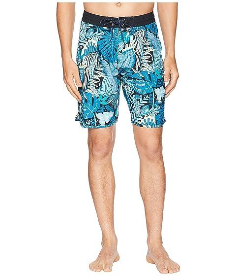 3852aa2c VISSLA Tropical Maui Four-Way Stretch Boardshorts 20